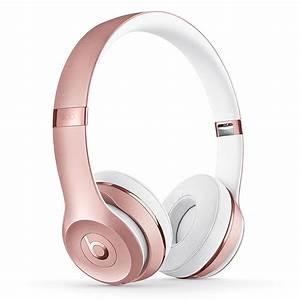 Casque Audio Long Fil : beats solo 3 wireless or rose casque beats by dr dre ~ Edinachiropracticcenter.com Idées de Décoration