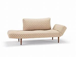 Daybed sofa bed in sand finish with oak legs new york new for Really comfortable sofa bed