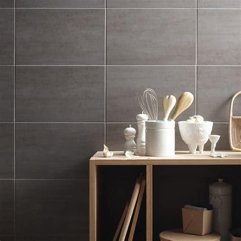 faience cuisine leroy merlin faïence mur gris clair eiffel l 25 x l 40 cm leroy merlin
