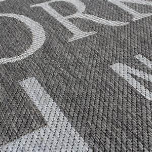 Teppich Altrosa Grau : teppich modern city sisal optik flachgewebe designer teppich in grau wohn und schlafbereich ~ Whattoseeinmadrid.com Haus und Dekorationen