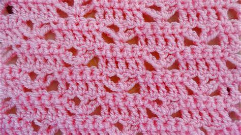 baby blanket stitch crochet tutorial youtube