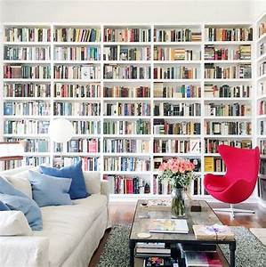 Billy Von Ikea : eine sch ne bibliothek aus ikea billy regalen ikea hacks ~ Lizthompson.info Haus und Dekorationen