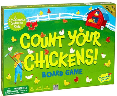 new cooperative board for younger and preschool 808 | count your chickens