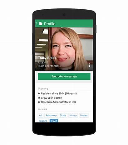 Nextdoor Profiles Member Introducing Android October