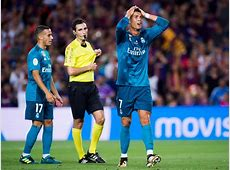 Cristiano Ronaldo banned for five matches after red card