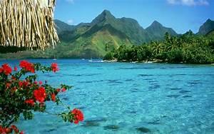 Widescreen wallpaper, Blue Lagoon