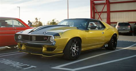 This Ringbrothers Custom Amc Javelin Amx Is A 1970s