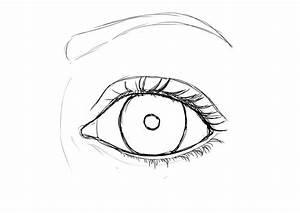 Dessin Facile Yeux : comment dessiner une fille etape par etape le dessin contemp ~ Melissatoandfro.com Idées de Décoration