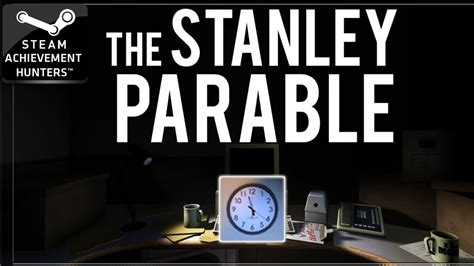 stanley parable achievements speed run steam