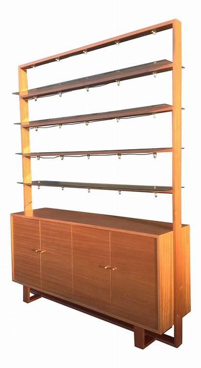 Glass Century Mid Shelves Units Corner Chairish