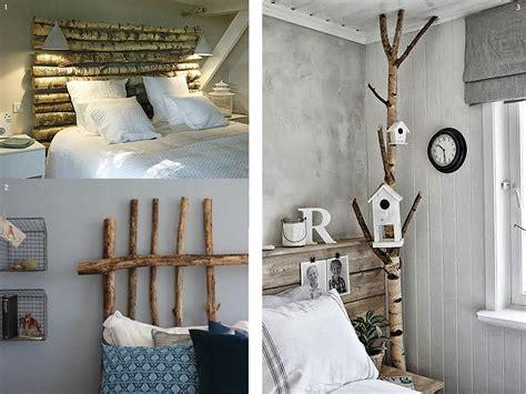 el bosque en casa ramas troncos  manualidades en madera