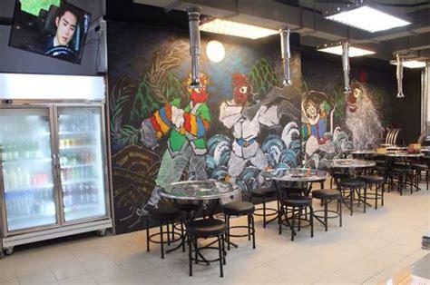 Graffiti Restaurant : Graffiti Wall By Korean Artist @ Shin Chon Bbq