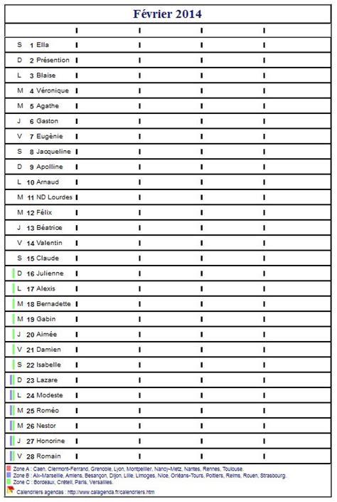 bureau d emploi bizerte pointage calendrier planning mensuel 2014 vierge format portrait