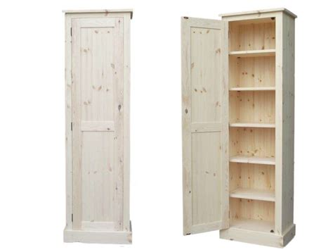 solid pine dresser furniture espresso wooden narrow storage cabinet