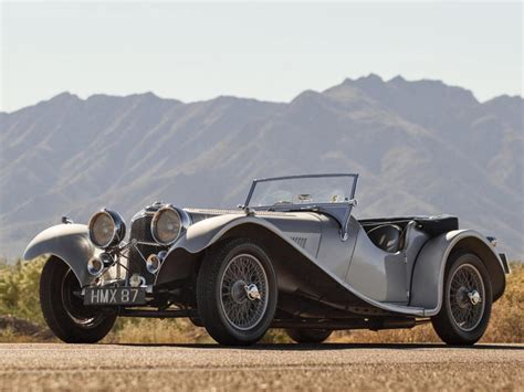 1938 Ss 100 Jaguar 3 Litre Roadster