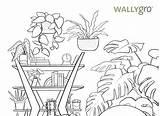 Coloring Plant International Appreciation April Elise Madison sketch template