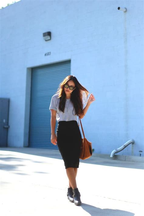 4 Chic Ways to Wear a Midi Skirt u2013 Glam Radar