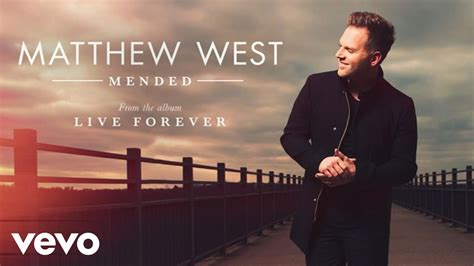 Matthew West Mended Sheet Music, Chords, Piano Notes