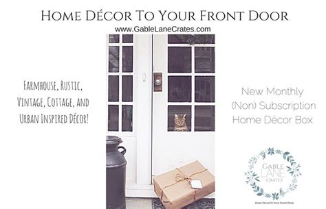 Home Decor Subscription Box : 11 Best Images About Gable Lane Crates On Pinterest