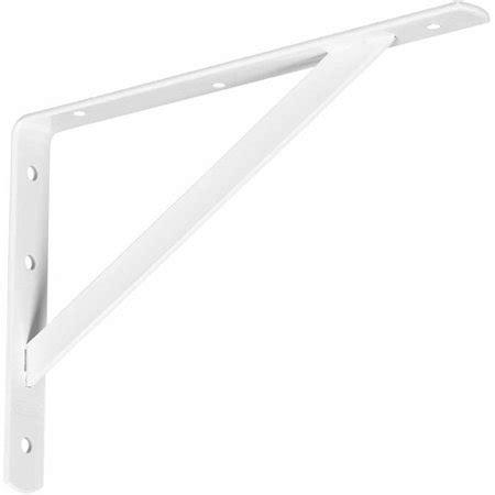 shelf brackets walmart stanley hardware 257555 20 quot x 13 quot white shelf brackets