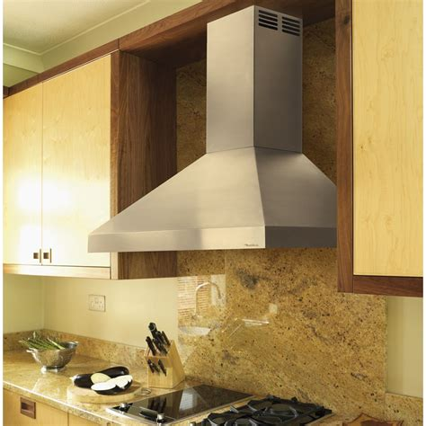 vent  hood pdahkss wall mount chimney hood   cfm internal blower centrifugal grease