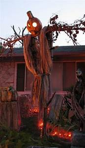 30, Cool, And, Scary, Outdoor, Halloween, Decor, Diy, Ideas