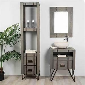 Salle De Bain Style Industriel : salle de bain style loft industriel a 2018 et salle de ~ Dailycaller-alerts.com Idées de Décoration