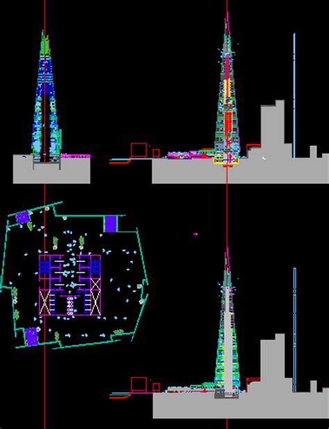 london bridge tower dwg block  autocad designs cad