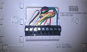 Honeywell Rth7400 Thermostat Wiring Diagram