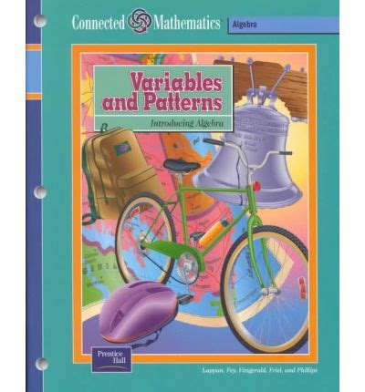 connected mathematics se variables  patterns grade
