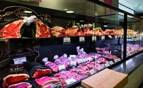 monoprix si e social le rayon quot trad quot priorité des distributeurs boucherie
