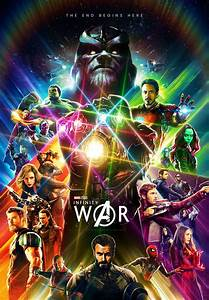 Incredible Fan-Made Infinity War poster : marvelstudios