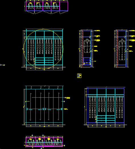 closet details  autocad  cad   kb
