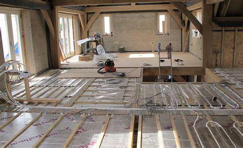 underfloor heating  floors homebuilding renovating