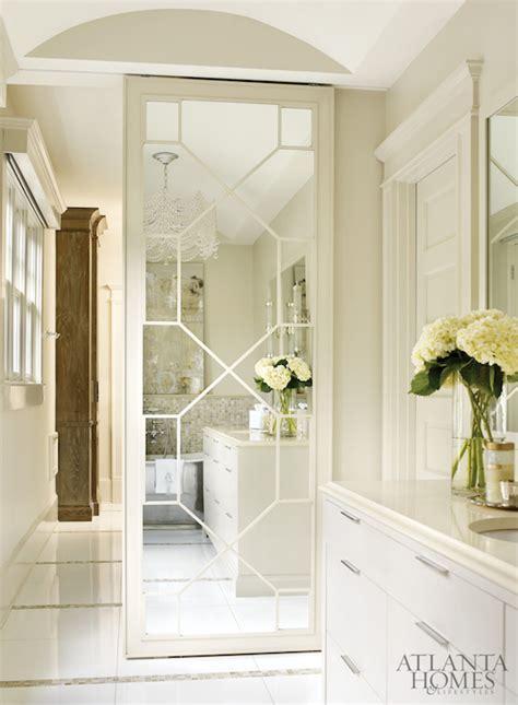 bathroom closet door ideas geometric mirrored closet door design ideas
