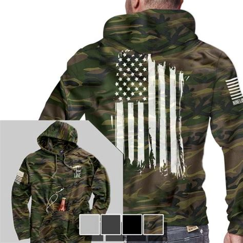 Tailgate Hoodie America Full Back Nine Line Apparel