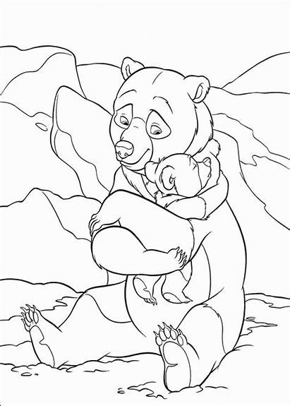 Brother Coloring Bear