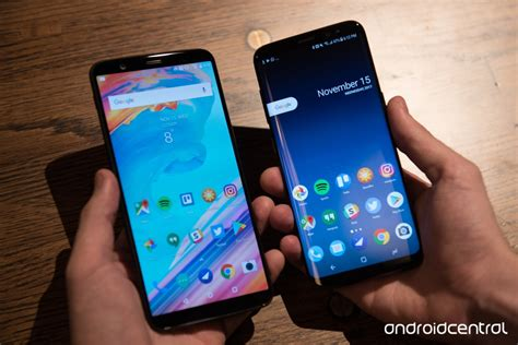 oneplus 5t vs samsung galaxy s8 beast mode android central