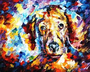 ABSTRACT animal dog 1 [No 45 Abstract Paintings] - S$128
