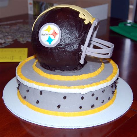 Pittsburgh Steelers Cho Late Cake Rose Bakery