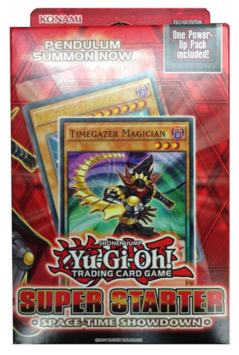 Yugioh Pendulum Deck Recipe by Yu Gi Oh Space Time Showdown Starter Deck Review