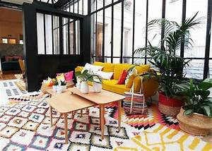 la redoute deco la nouvelle collection boheme With tapis ethnique avec canapé style loft