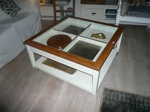 Table Basse Occasion : table basse carree blanche offres septembre clasf ~ Teatrodelosmanantiales.com Idées de Décoration
