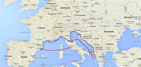 Boat Transport To Spain by Ferries Spain Italy Italy Greece Travelteachtalk