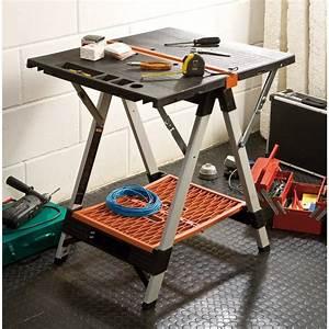 Etabli D Atelier : tabli d 39 atelier pliable et transformable en tr teaux ~ Edinachiropracticcenter.com Idées de Décoration