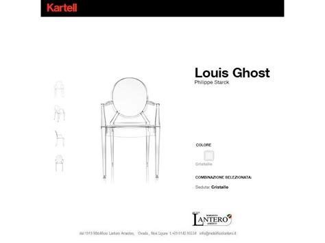 Sedie Kartell Offerta Sedia Kartell Set 4 Sedie Louis Ghost Kartell In Offerta