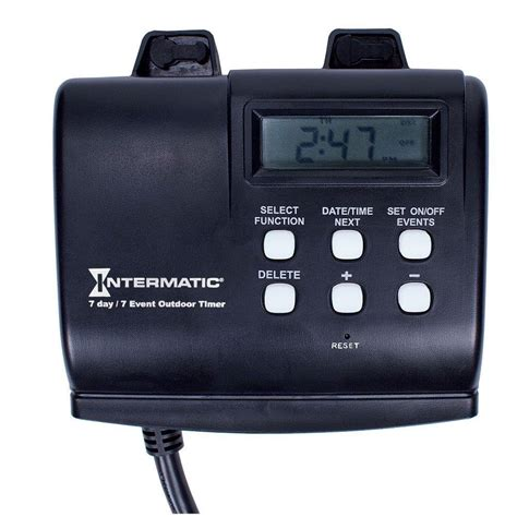 intermatic 15 7 day outdoor digital in timer