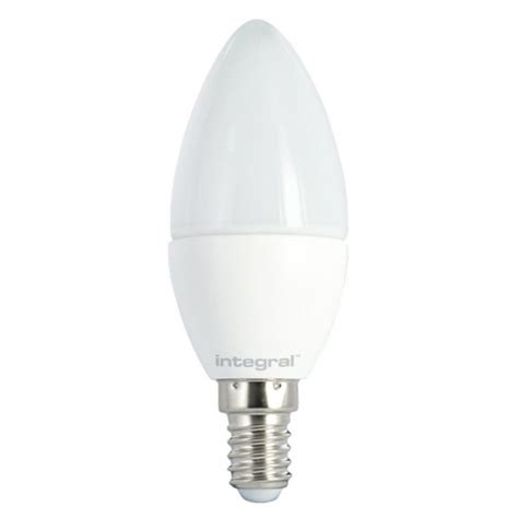 frosted led candle 5 9w 40w 2700k 470lm e14 non dimmable