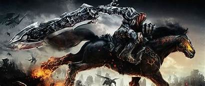 Wallpapers Gaming Wallpapersafari 1440 3440 Darksiders Dell