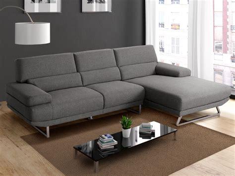 canap tissu moderne canapé d 39 angle en tissu moderne gris et beige vinga